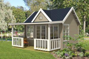 Read more about the article BigBen-Gartenhaus