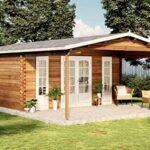 A-Z Gartenhaus Caroline